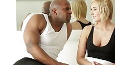Bigbooty interacial model with BBC
