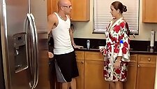 taboo passions son gets nasty with mom madisin lee in gotta workout