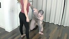 Engaged to a ballbusting tease