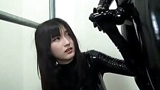 Japanese Latex Catsuit