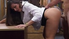 Milf bendover and fucked for money