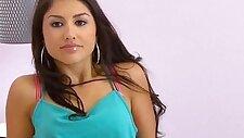 Face spunked latina teen