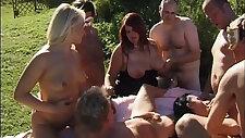 swingers gangbang orgy