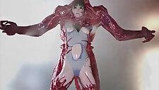 A Third Dimension Little Ballerina Hina Bitch