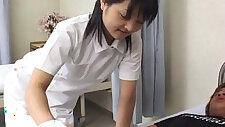 Miku Hoshino in nurse fucking