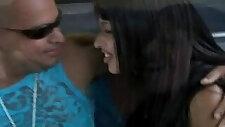 Amateur sex in a Brazilian bus