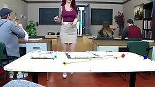 Monique Alexander gives a hot teacher blowjob