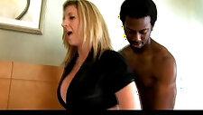 Sara jay loves black monster cocks