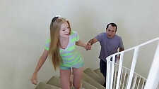 Mexican baby sitter fucks her young teen blonde Avril Hall!!!