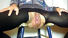 Old Granny Fucked In Gaping Cunt