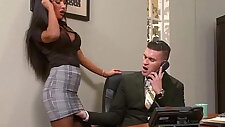 Sex Tape In Office sex With black huge Round big Boobs Girl elicia solis movie