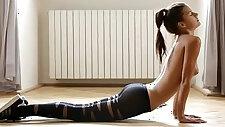 Pantyhose Yoga
