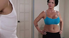 Flexible Yoga MILF Shay Fox Just Wants to Fuck Her New Employee