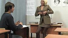 Russian mature teacher Nadezhda mature teachers orgies