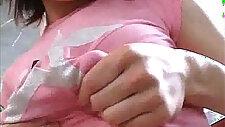 Maria Ogura sprays milk Xnik
