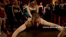 Ladies party with nasty in femdom sex