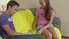 Bro Seduce Extrem Small Stepsis to Fuck Her Tight Ass