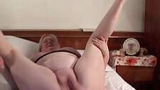 Lucky excited mature stockings pussy fucked