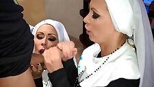 Penthouse Pet Nikki Benz Jessica Jaymes Banged As Nuns!