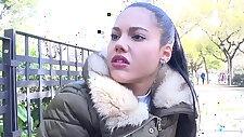 Hot Teen Apolonia Lapiedra Fucks the Model Agent in Public