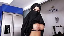 Busty milf and Teen Violates Her Religion POV
