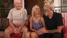 Happy Blonde amateur MILF