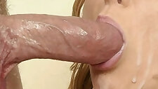 Sissy TRAINING suck cock SHORT XXX