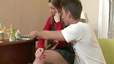 Natural Tits Teen fucked From Moscow