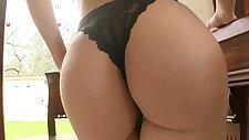 Julia De Lucias amazing round ass fucked hard