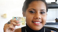 Hybrid black latina from Dominican Republic Toticos